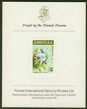 Anguilla 1969 Cattleya Orchid proof/PRESENTATION CARD