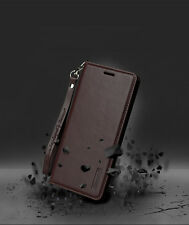 Samsung Galaxy S9 S8 Plus S7 Edge Magnetic Flip Leather Wallet Stand Case Cover