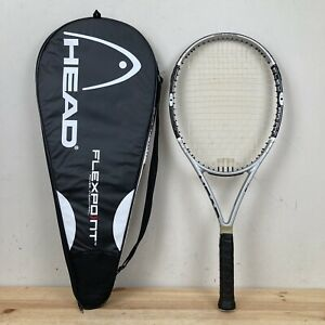 "Head Liquidmetal Flexpoint 6 Oversize 112 Sq. Tennis Racquet 4 3/8"" Grip"