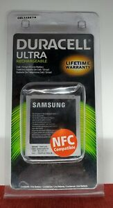 Duracell Ultra Rechargeable Battery Cell Smart Phone NIP New Samsung CEL11327A