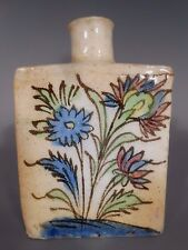 Persia Persian Islamic Middle Eastern Pottery Flask / Bottle ca. 19-20th century
