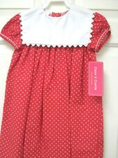 NWT Red and white polka dot Float dress size 2T