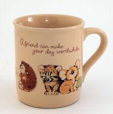 Hallmark Mug Mates Friend Mug Baby Animals Fox Chick Bear Porcupine Koala Cat