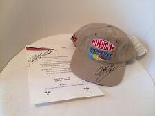 NASCAR Jeff Gordon SIGNED Dupont Automotive Racing Hat Cap & Letter Invitation