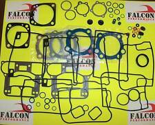 Harley Evo 1340 Big Twin Upper/Top End+Base FULL Gasket Kit w/Teflon Head 84-91