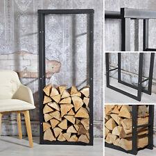 Mensola ripiano scaffale magazzino per stoccaggio legna portalegna 150x60x25cm