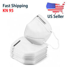 20 PACK KN95 Disposable Protective Face Mask Respirator 5 Layers Filter Masks