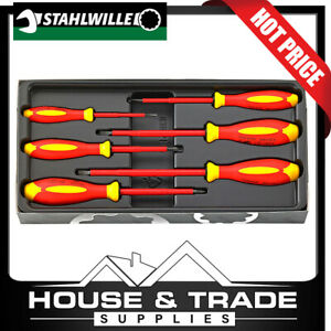 Stahlwille Screwdriver Set 6 Piece 1000v DRALL+ 4695 VDE 96469515