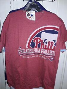 Philadelphia Phillies submariner style shirt MLB  baseball T-Shirt Philly NEW XL