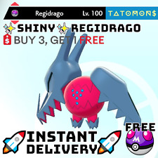 ✨SHINY✨6IV REGIDRAGO battle ready pokemon sword shield 🚀Instant Delivery🚀