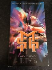 THE MICHAEL SCHENKER GROUP 4 CD BOX SET BACK TO ATTACK LIVE NEW MSG UFO