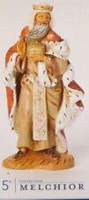 "Roman Inc Fontanini 5"" Nativity Set Melchior King / Wise Man Figurine New in Box"