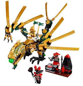 Ninjago The Golden Dragon 70503 Building Block Set for children High Quality
