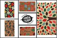Natural Coir Door Mat | Rubber Backed | Entrance | Indoor & Outdoor | Heavy Duty