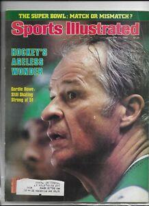 Sports Illustrated January 21 1980 Hockeys Ageless Wonder Gordie Howe NM
