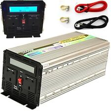 3000W/6000W(Peak) POWER INVERTER DC12V-AC240V WITH SOFT START, LCD DISPLAY