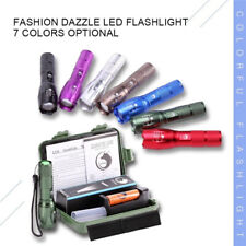 5 Modes LED Flashlight Stretching Rechargeable Portable Zoom Tactical Torch US