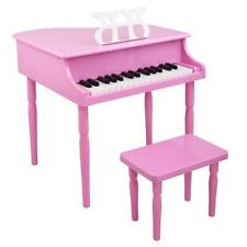 More details for enlighten child kids 30-keys grand piano keyboard play with chair music score