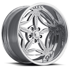 "Pro Wheels 420 18"" Polished Aluminum Billet Wheels Rims (set of 4)"