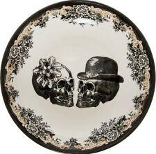 More details for royal stafford skulls large pasta bowl halloween gothic mr mrs wedding gift