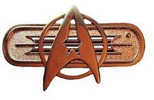 "Star Trek Movie Federation Uniform Chest Deluxe Communicator 3"" Wide Pin"