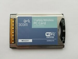 3Com PCMCIA Wireless LAN PC Card with XJACK Antenna 3CRPAG175
