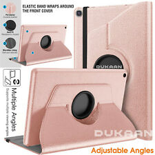 """For Samsung Galaxy Tab S6 Lite 10.4"""" 360 Rotate Case Cover Swivel Leather Stand"""
