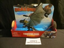 Toothless action dragon Missile Fire attack Dreamworks Dragons HTTYD action fig