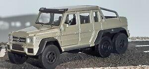 1/34 ~ 1/36 ~ 1/32  MERCEDES classe G 63 AMG  6×6       6x6     V8 biturbo
