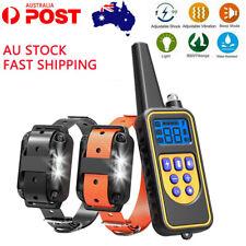 Training Electric Dog Pet E-Collar Obedience Remote Control anti bark shock AU