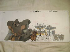 Gundam Wing Gundam Sandrock / Deathscyhe Long Anime Production Cel