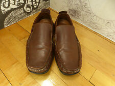 Clark's Brown Leather Driving Mocs 8M