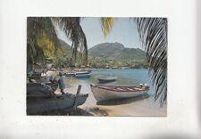 BF28061 guadeloupe les saintes terre de haut  caribbean island  front/back image