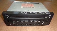 Autoradio Radio CD-Radio 96476647XT CLARION Citroen C3 Bj.02-05