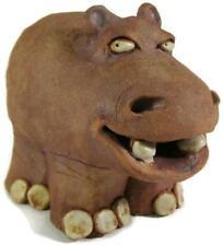 Whimsical 1987 Wild Earth Lila Stuart Hippo Hippopotamus Figurine