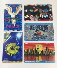 Lot Of 5 Nynex Change Cards Telecard 1995 Phone Cards Mint (7175)