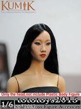 KUMIK 1/6Scale Girl Female Head Sculpt Fit 3A HT Phicen Body KM 13-20 Type Model