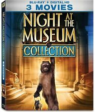 Night at the Museum 1 2 3 Blu Ray Collection, New Free Shipping