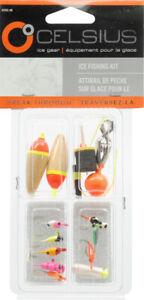 CELSIUS  Ice Fishing Kit - 15 Piece - SALE!