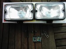 Peugeot 205 GTI CTI XS NEW driving lights lamps Genuine DENJI Siem dimensions