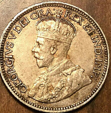1919 CANADA SILVER 10 CENTS SILVER DIME - Excellent example!