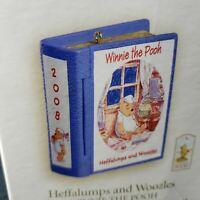 Hallmark Disney Ornament Heffalumps and Woozles Winnie Pooh Honey 11 in Series