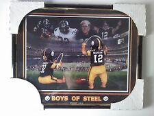 Pittsburgh Steelers Boys Of Steel 8x10 Plastic Picture New NFL Harris Bradshaw