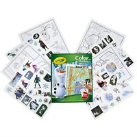 Crayola Art Disney's Frozen II ~ 32 Coloring Pages & 50 + Stickers New