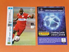 CACAU VFB STUTTGART BRASIL FOOTBALL CARDS PANINI CHAMPIONS LEAGUE 2007-2008