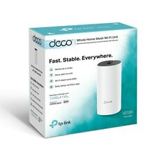 TP-Link Deco M4 Whole Home Mesh WiFi Router Dual Band Gigabit Wireless New inBox