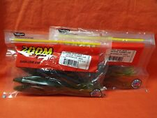 "ZOOM 7"" Magnum Super Fluke (5 Cnt) #112-019 Watermelon Seed (2 Packs)"