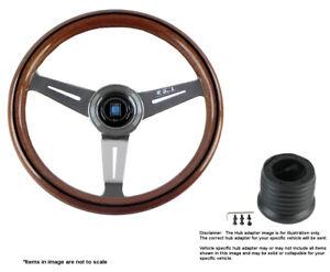 Nardi Classic 330mm Steering Wheel + MOMO Hub for Nissan 5061.33.3000 + 3507