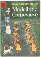 Four Color 796 Dell 1957 GD VG Madeline & Genevieve Ludwig Bemelmans