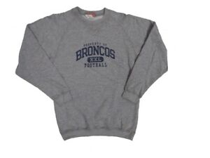 Denver Broncos Property Of Youth Grey Sweatshirt (Large 14/16)